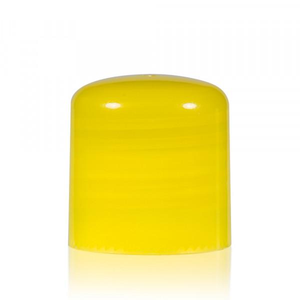 Schroefdop PP geel 24.410
