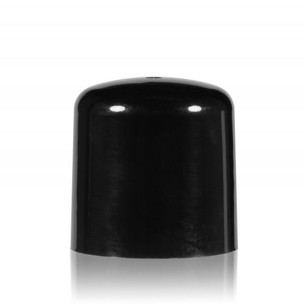 Schroefdop PP zwart 24.410
