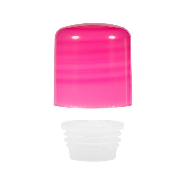 Schroefdop met plug PP roze 24.410