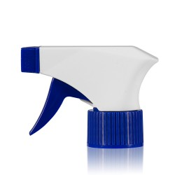 Triggerpomp PP wit/blauw 28.410
