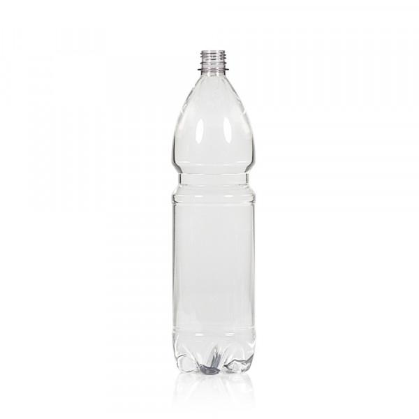 1500 ml fles Water PET transparant 28PCO