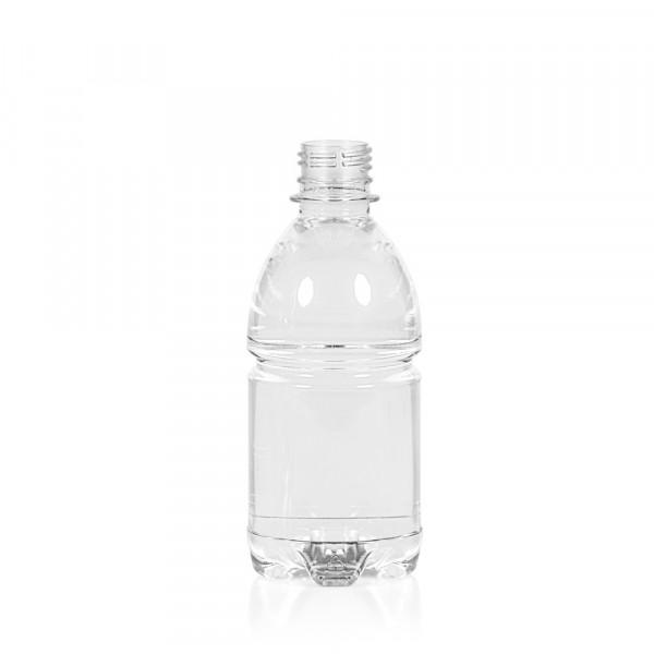 330 ml fles Water PET transparant 28PCO
