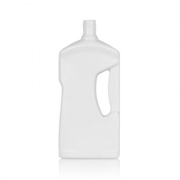1000 ml fles Cleaner HDPE wit DIN 28